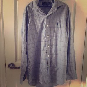 Two-Ply Cotton button up. Exceptional Condition.